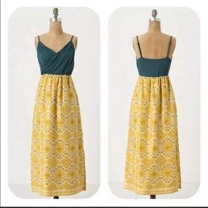Anthropologie Edme Esyllte Cuernavaca Maxi dress